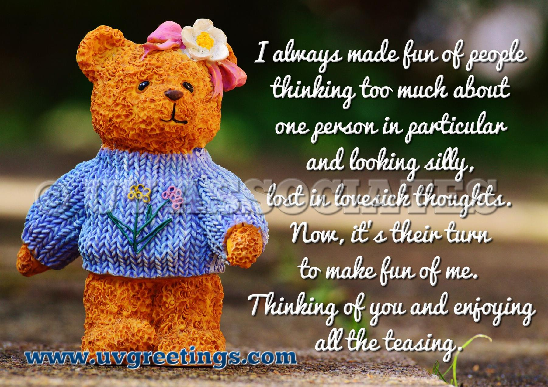 29 Thinking of you Messages - Romantic Poems, Inspiring ...